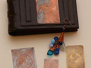 МК по травлению меди и латуни | Ярмарка Мастеров - ручная работа, handmade