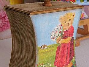 """Короб """"Леля и Минька"""". Ярмарка Мастеров - ручная работа, handmade."""