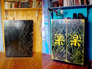 Декор шкафа (из серии дачные переделки). Ярмарка Мастеров - ручная работа, handmade.