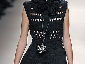 Модные тенденции - вязаные платья 2014   Ярмарка Мастеров - ручная работа, handmade