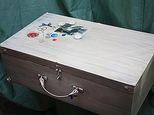 Реставрация очень старого чемодана | Ярмарка Мастеров - ручная работа, handmade