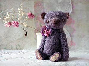Мишка Мои черничные ночи - работа дня! | Ярмарка Мастеров - ручная работа, handmade