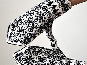 Традиции вязания, или История знаменитых узорных варежек. Ярмарка Мастеров - ручная работа, handmade.