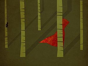 Минималистские постеры к сказкам | Ярмарка Мастеров - ручная работа, handmade