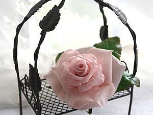Лепим чашелистики для розы из полимерной глины. Ярмарка Мастеров - ручная работа, handmade.