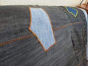 Переделка №3 (джинсовое покрывало) | Ярмарка Мастеров - ручная работа, handmade