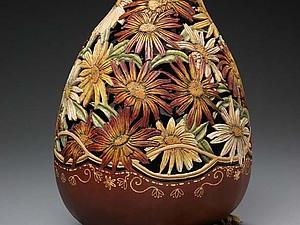 Художественная резьба по тыкве | Ярмарка Мастеров - ручная работа, handmade