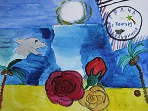 Приятные  письма  из страны Дельфинии. Или привет от моей куклы из Австралии))) | Ярмарка Мастеров - ручная работа, handmade