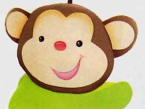 Мастерим козырек-обезьянку на детский праздник. Ярмарка Мастеров - ручная работа, handmade.
