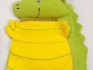Шьём кармашек для кабинки в детский сад, или «Запасливый дракончик» | Ярмарка Мастеров - ручная работа, handmade