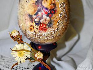 Весеннее настроение - пасхальное яйцо   Ярмарка Мастеров - ручная работа, handmade