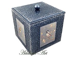 Коробок Пташки | Ярмарка Мастеров - ручная работа, handmade