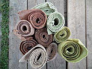 Крашение шерсти и шелка натуральными травами