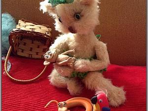 В эти светлые праздники и игрушка получилась светлая | Ярмарка Мастеров - ручная работа, handmade