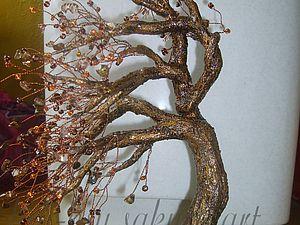 Хочу предложить мой урок по плетению Дерево на ветру.  Когда я плету свои деревья кол-во материала я определяю на...
