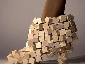 Необычная обувь | Ярмарка Мастеров - ручная работа, handmade