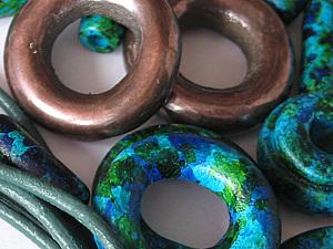 """Использование колечек и """"бубликов"""" в создании украшений. Ярмарка Мастеров - ручная работа, handmade."""