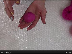 Валяние для начинающих. Видео мастер-класс: делаем бусины из шерсти. Ярмарка Мастеров - ручная работа, handmade.
