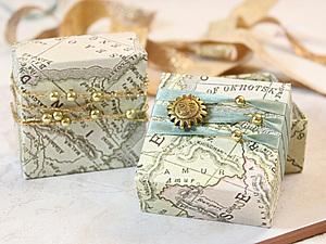 Изготовление и декор упаковки за 10 минут! Или как сделать красивые коробочки). Ярмарка Мастеров - ручная работа, handmade.