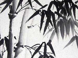 Благородный бамбук   Ярмарка Мастеров - ручная работа, handmade