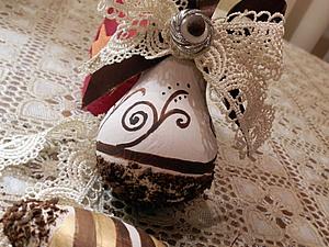 Елочные игрушки из лампочек. Ярмарка Мастеров - ручная работа, handmade.