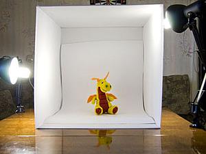 Домашняя бюджетная фотостудия для предметной съёмки | Ярмарка Мастеров - ручная работа, handmade