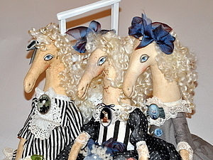 Я люблю свою лошадку... | Ярмарка Мастеров - ручная работа, handmade
