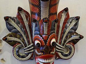 Музей масок города Амбалангода: необычные произведения жителей Шри-Ланки. Ярмарка Мастеров - ручная работа, handmade.