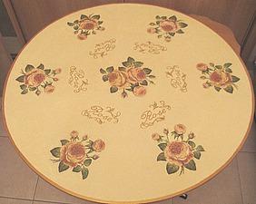 Декорируем пластиковый стол в технике декупаж. Ярмарка Мастеров - ручная работа, handmade.