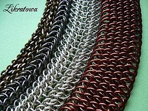 Необычное занятие по кольчужному плетению. | Ярмарка Мастеров - ручная работа, handmade