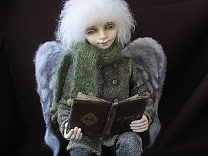 Авторская коллекционная кукла из полимерной глины | Ярмарка Мастеров - ручная работа, handmade