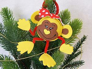 Мастерим симпатичную обезьянку из фома. Ярмарка Мастеров - ручная работа, handmade.