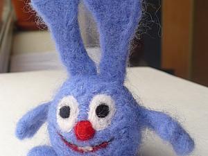 Валяем кролика Кроша - Часть2. Ярмарка Мастеров - ручная работа, handmade.