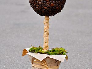 Кофейный топиарий | Ярмарка Мастеров - ручная работа, handmade