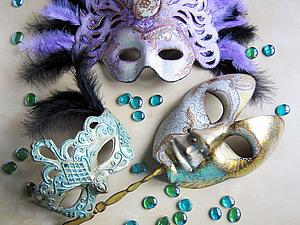 """МК """"Праздничный декор. Венецианская маска"""" - Ярмарка Мастеров - ручная работа, handmade"""