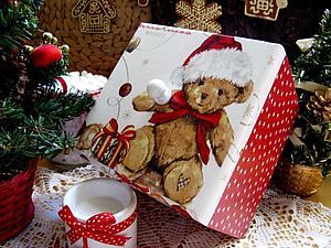 Ну вот, да, не выдержала! Новый год))))))   Ярмарка Мастеров - ручная работа, handmade