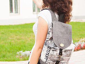 Распродажа летней коллекции рюкзаков   Ярмарка Мастеров - ручная работа, handmade