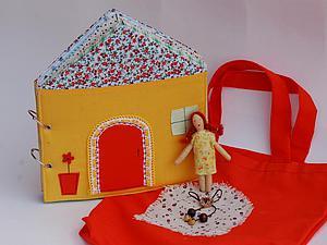 Делаем книжку-домик на разъемных кольцах. Ярмарка Мастеров - ручная работа, handmade.