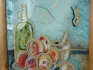 Рисование картины маслом на стекле. Ярмарка Мастеров - ручная работа, handmade.