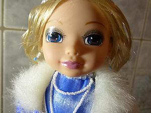 Как сделать Снегурочку из сломанной куклы. Ярмарка Мастеров - ручная работа, handmade.