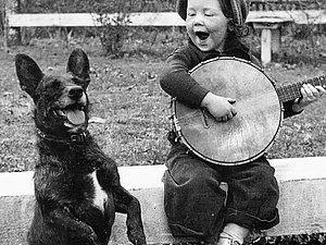 Трогательные примеры дружбы детей и животных на старых фотографиях прошлого века. Ярмарка Мастеров - ручная работа, handmade.