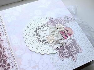 Свадебный альбом в стиле Шебби | Ярмарка Мастеров - ручная работа, handmade