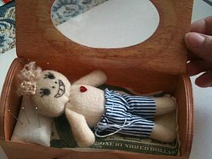Создание куколки Вуду с хорошими намерениями | Ярмарка Мастеров - ручная работа, handmade