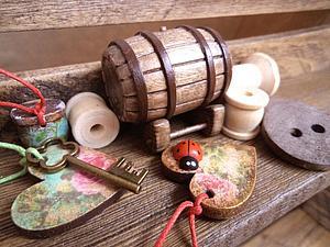 Мастерим миниатюру старинной бочки. Ярмарка Мастеров - ручная работа, handmade.