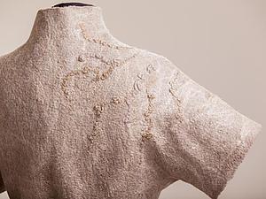 МК Жилет  или жакет с коротким рукавом   с фактурами | Ярмарка Мастеров - ручная работа, handmade