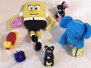 Часть 1. Коллекция войлочных игрушек нашла своих хозяев))   Ярмарка Мастеров - ручная работа, handmade