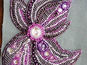 Вышиваем бисером цветок колье «Весенная Рапсодия». Ярмарка Мастеров - ручная работа, handmade.