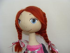 Прическа для куклы | Ярмарка Мастеров - ручная работа, handmade