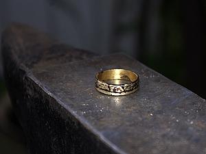 Кольцо из пятака, или кое-что из секретов деревенских кузнецов. | Ярмарка Мастеров - ручная работа, handmade
