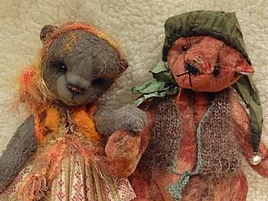 Аукцион!!!!! Женечка И Коти... Тедди Ребята | Ярмарка Мастеров - ручная работа, handmade